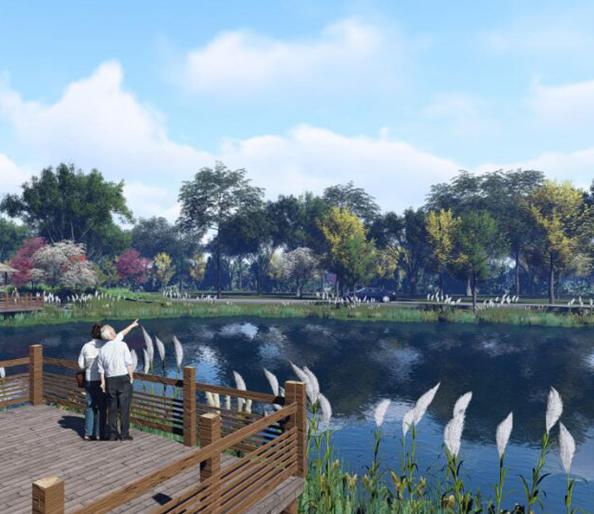 鹿溪河生态区建设项目