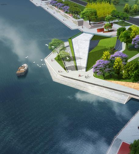 兴隆湖环湖带景观工程