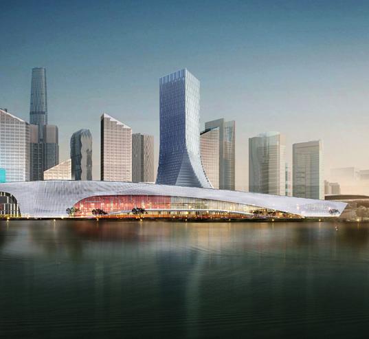 中国西部国际博览城(一期)项目