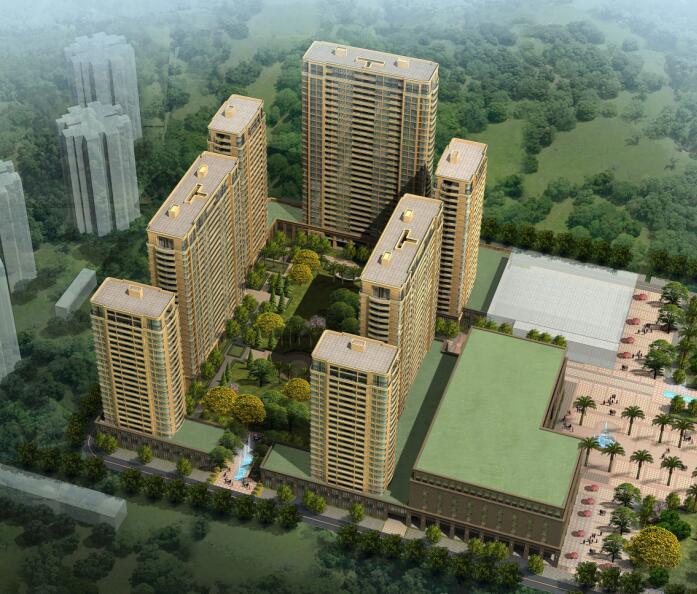成都市龙泉驿区农民集中安置区滨西绿洲三期新居工程