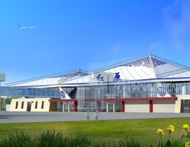 阿坝红原民用机场工程项目