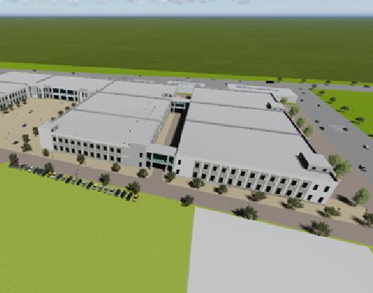 临汾经济开发区(洪洞·甘亭)工业园新能源汽车产业园厂房及基础设施建设项目